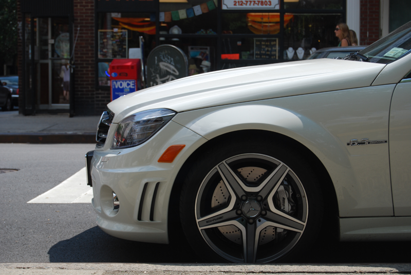 C63 wheel well soho