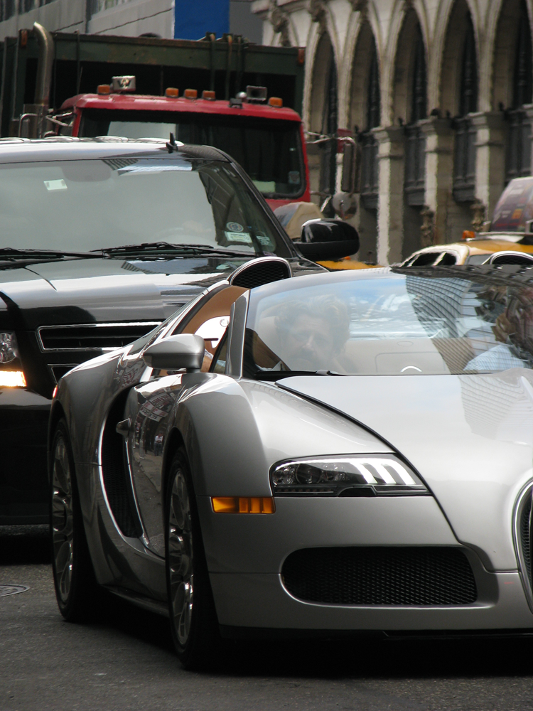 Bugatti Veyron Grand Sport - West 46th Street, NYC