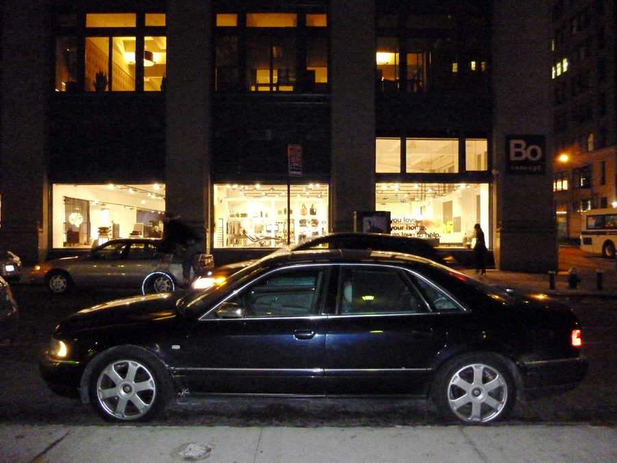 Audi S8 - East 30th Street, NYC