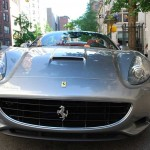 Ferrari California - East 76th Street, NYC