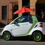 Smart Fortwo Electric Drive - Old Fulton Street, (DUMBO) Brooklyn