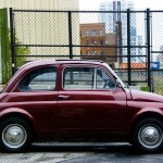 Fiat 500 - West 37th Street, NYC