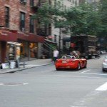 Flaming Dodge Viper SRT10 - East 37th & 3rd Ave, NYC