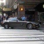 Mercedes Benz SLS AMG - Madison Avenue, NYC