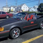 The Batmobile, Ford Escort Style: RT. 35 - Normandy Beach, NJ