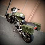 Army Green Duc Supersport: NW Marshall & NW 18th - Portland, OR