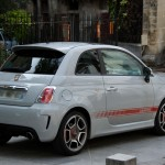 Fiat 500 Arbath: Rue Saint - Julien le Pauvre, Paris, France