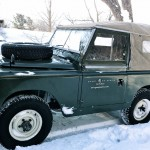 Land Rover Series I: Town Mountain Road - Asheville (SC)