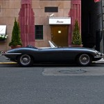Jaguar E Type - East 63rd Street, NYC
