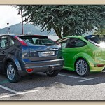 Ford Focus RS vs Renault Clio - Saint Etienne, France