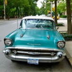 Chevy Bel Air - 5th Ave @ 68th Street, NYC