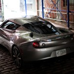 Lotus Evora S - Tribeca Alleyway, NYC