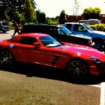 MB SLS AMG - Whole Foods parking @ SW Bridgeport Rd, Tualatin [OR]