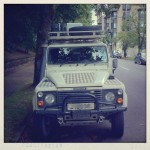 Land Rover Defender LWB - NW 19th & Glisan, Portland [OR]