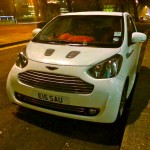 Aston Martin Cygnet - Piccadilly Street, London