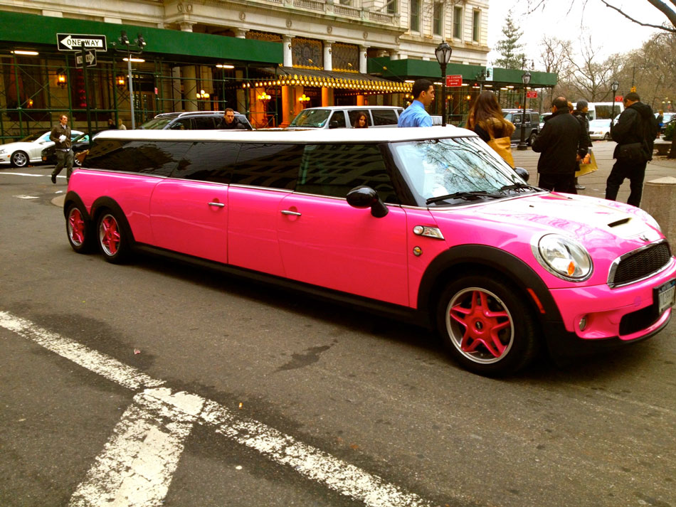 Mini Cooper Stretch Limousine - East 58th Street, NYC