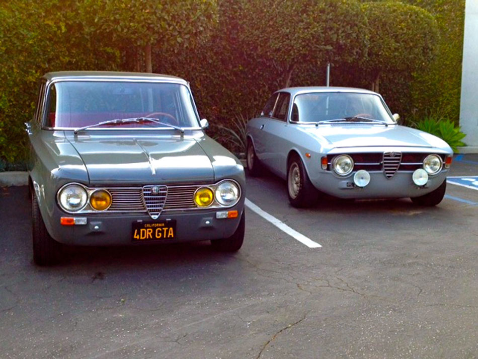 Vintage Alfas on Melrose - Beverly Hills, Ca