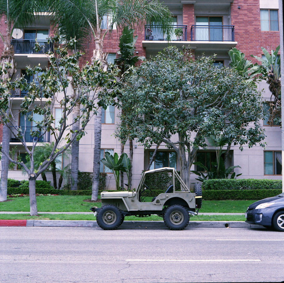 Willys Jeep - Wilshire BLVD, Los Angeles