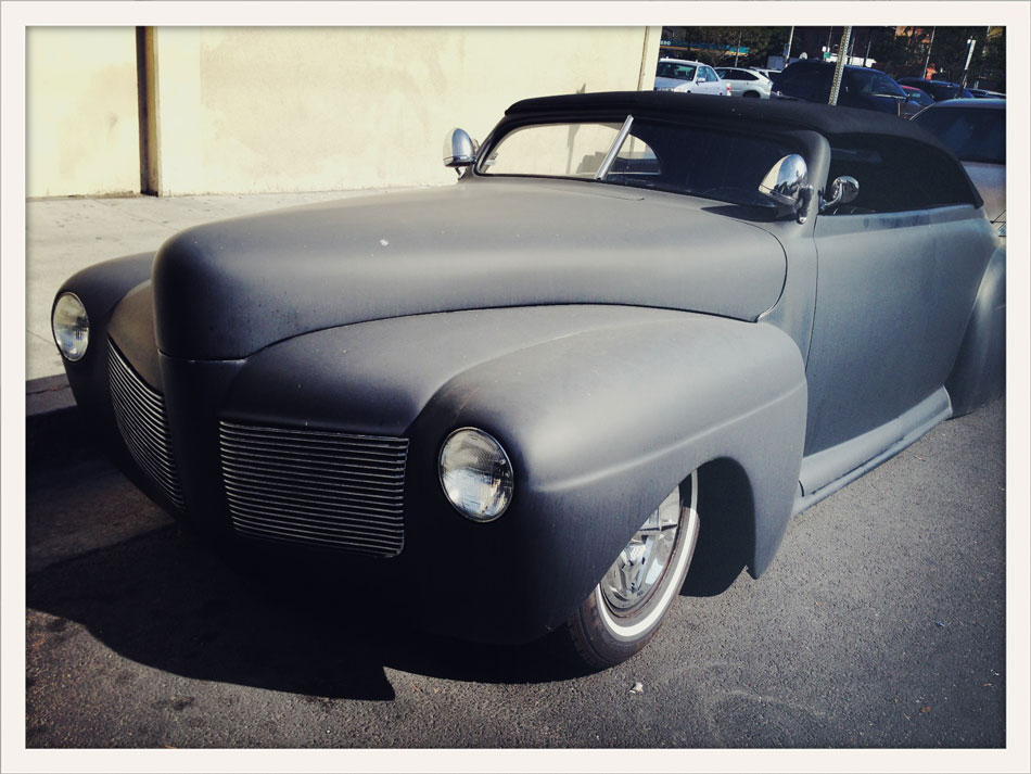 Blue Oval Hot Rod - Cahuenga Blvd, Los Angeles