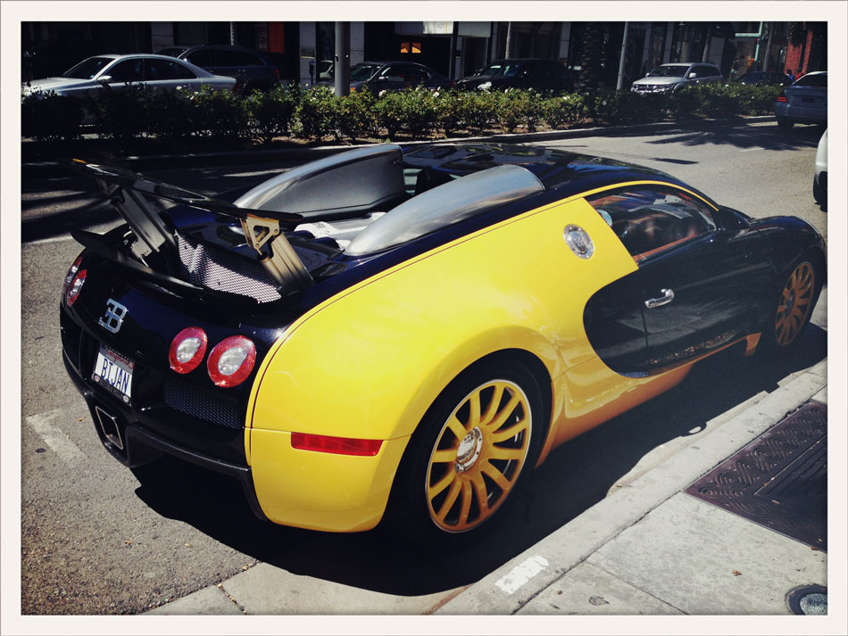 Bugatti Veyron - Rodeo Dr, Los Angeles