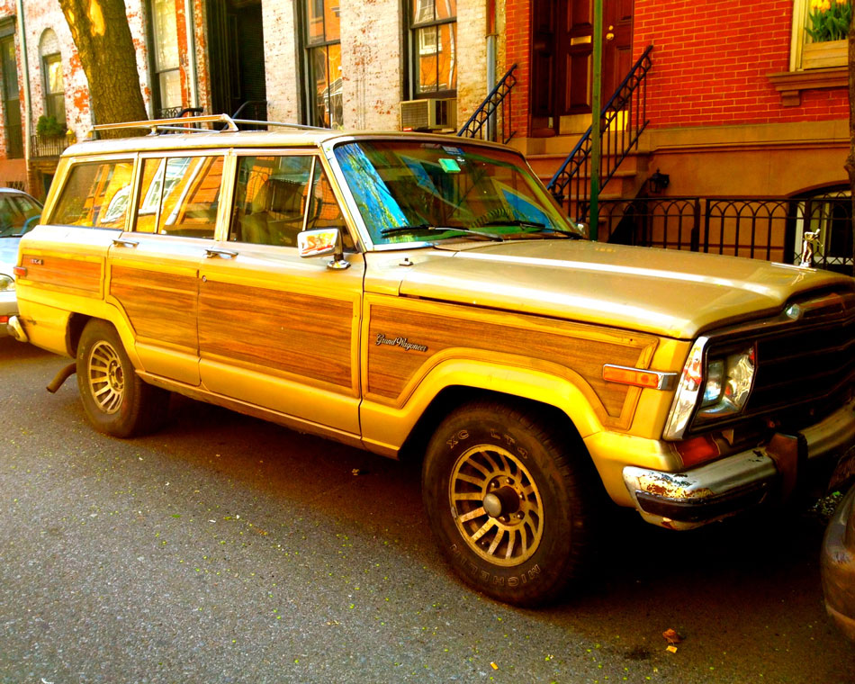 Jeep Grand Wagoneer - West Village, NYC