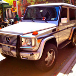 Mercedes G500 (3 door) SWB - West 4th & 11th St, NYC