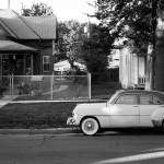 Chevy Deluxe Sedan - 26th and R Street, Lincoln, Nebraska