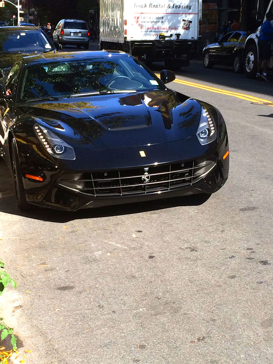 Ferrari F12 Berlinetta - West Broadway, NYC