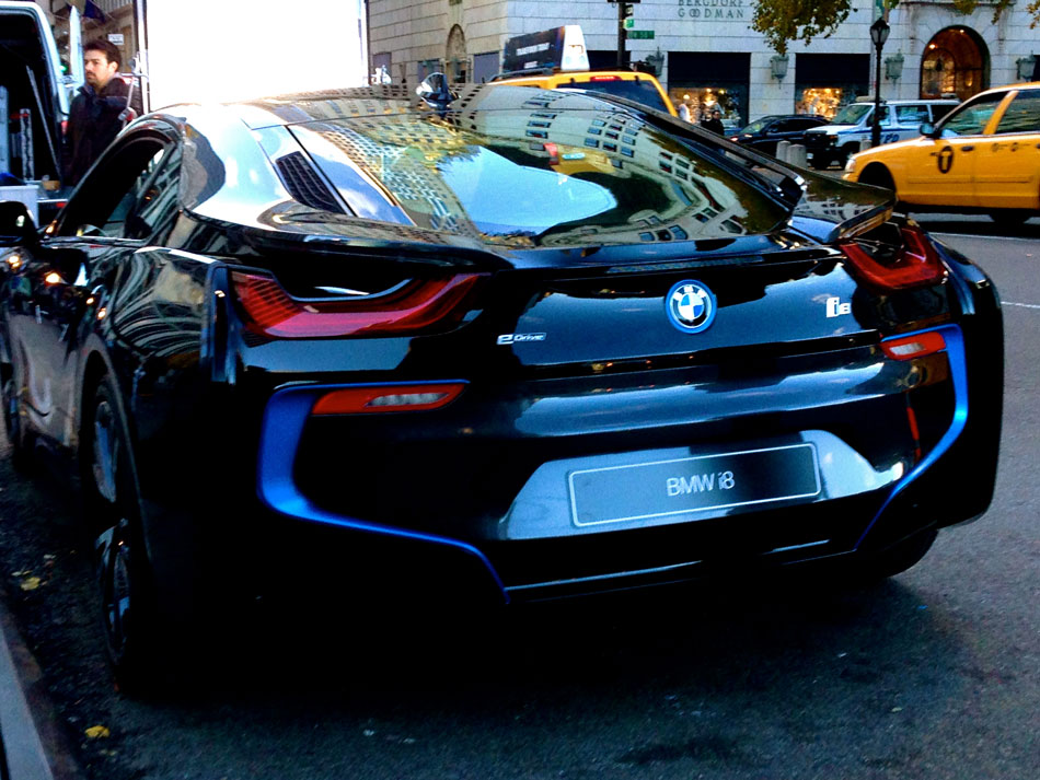 BMW i8 Prototype - 5th Avenue, NYC