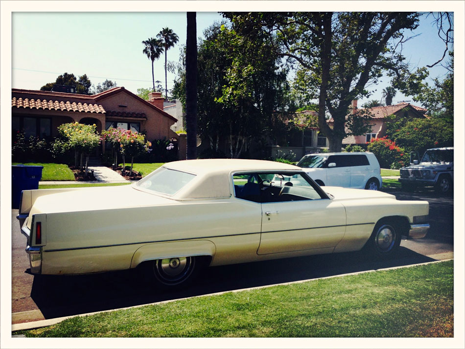 1963 Cadillac Coupe DeVille: Gardner Street, West Hollywood