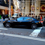 Car Spotting @ the Plaza - 5th Avenue, NYC