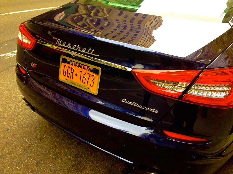 Maserati Quattroporte - 5th Avenue, NYC