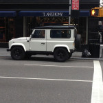 Land Rover Defender - Park Avenue, NYC