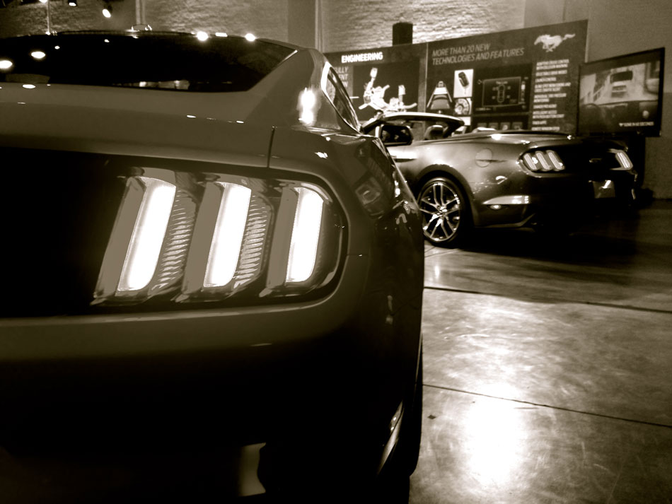 2015 Mustang Worldwide Premier - Chelsea: West 22nd Street, NYC