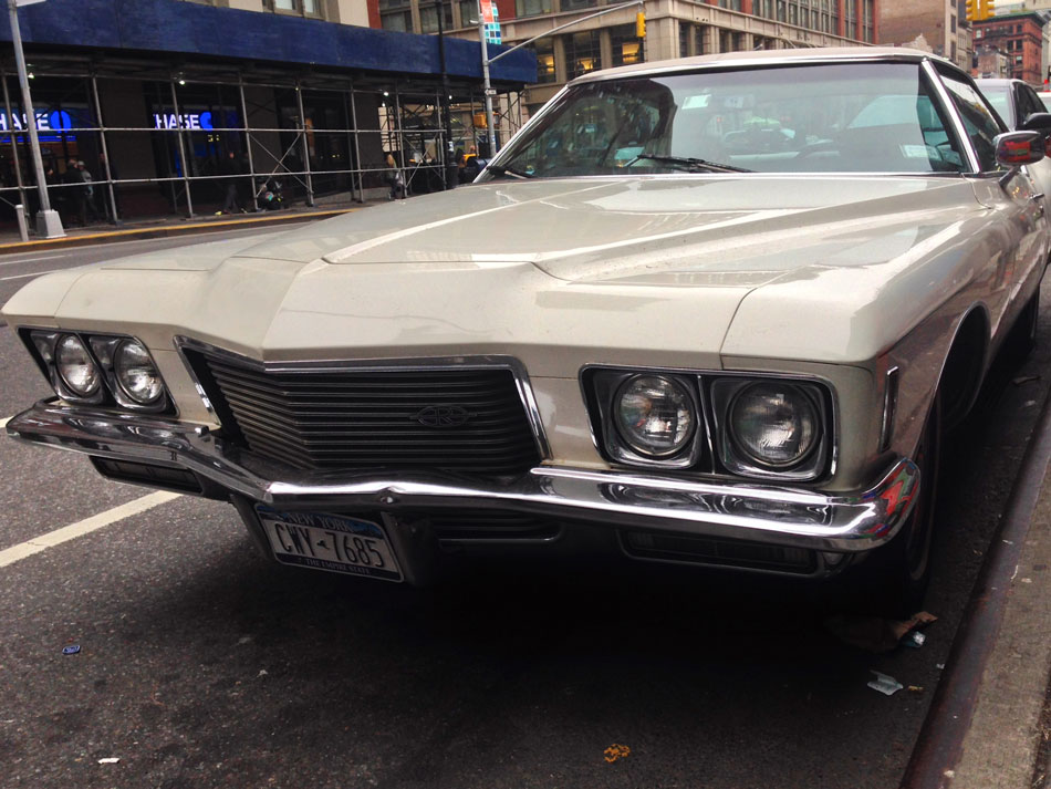 Buick Riviera - Sixth Avenue, NYC