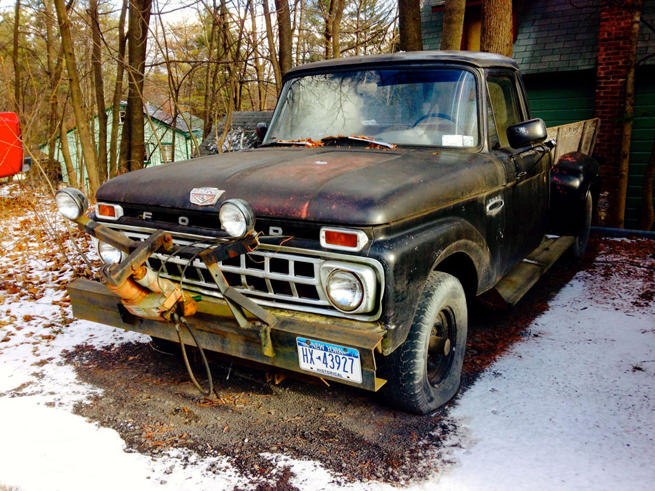 "Ford ""Custom Cab"" Pick Up - Woodstock, New York"