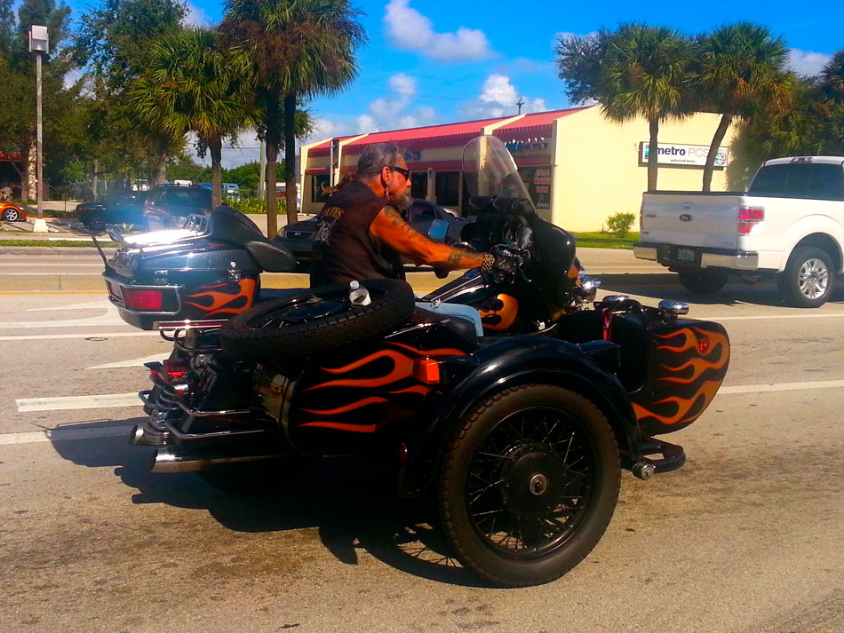 Harley + Wicked Sidecar - Ft. Lauderdale, Florida