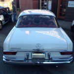 Mercedes 220 SE - Point Reyes, California