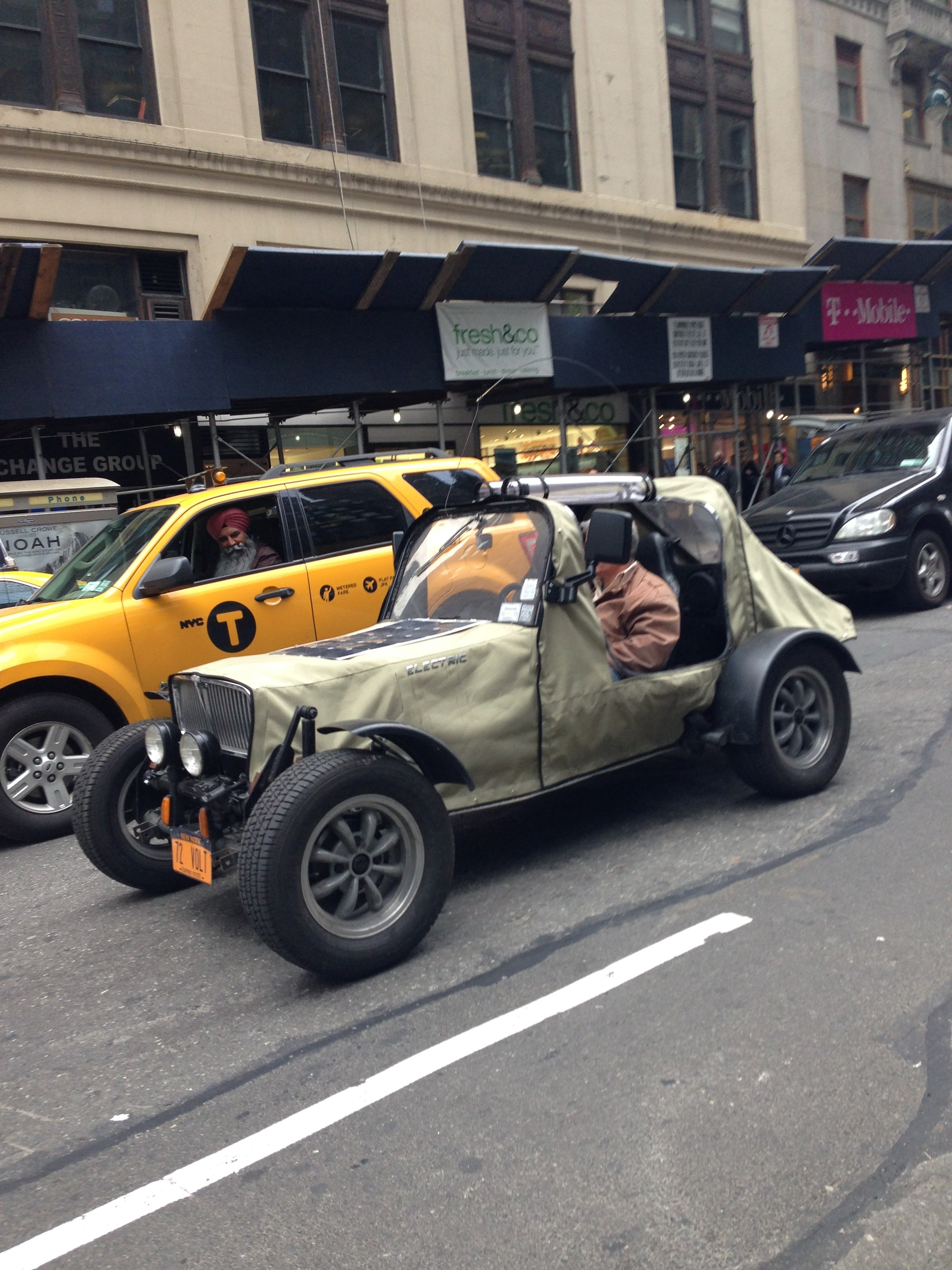 Second Sighting: Mysterious Homemade EV – East 64th Street, NYC