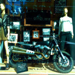 2-Wheeled Window Displays - Madison Ave, NYC