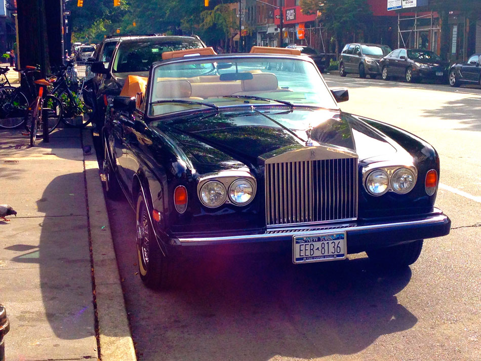 Rolls Royce Corniche II - West 11th Street, NYC