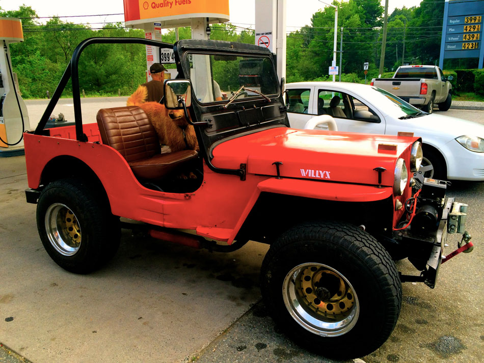 Jeep Willys C2A - The Berkshires, Mass