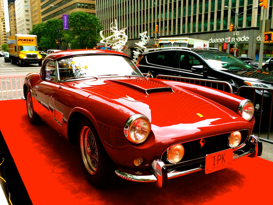 Classic Ferraris on Park - Park Avenue, NYC