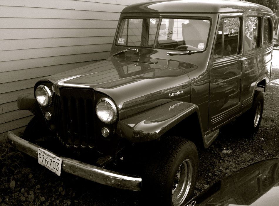 Willys Jeep Station Wagon - Lee, Mass