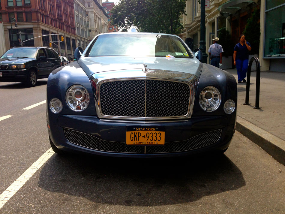Bentley Mulsanne - Sixth Ave, NYC